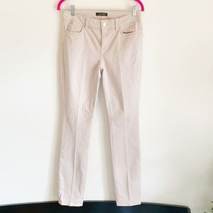 Ann Taylor Khaki Tan Skinny Modern Pant Trousers 4